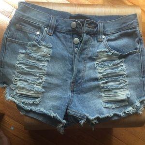 MinkPink Jean shorts new!